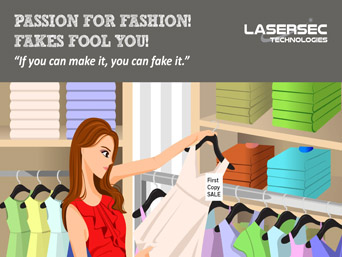"Passion for Fashion, Fakes fool you! - ""If You Can Make It, You Can Fake It."""